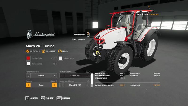Lamborghini Mach VRT Tuning v 1.0