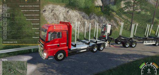 MAN TGX Holz LKW v 1.0