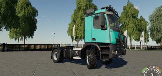 Mercedes Arocs Agrar v 2.0