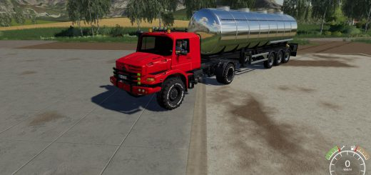 Mercedes Zetros Red v 1.0 Beta
