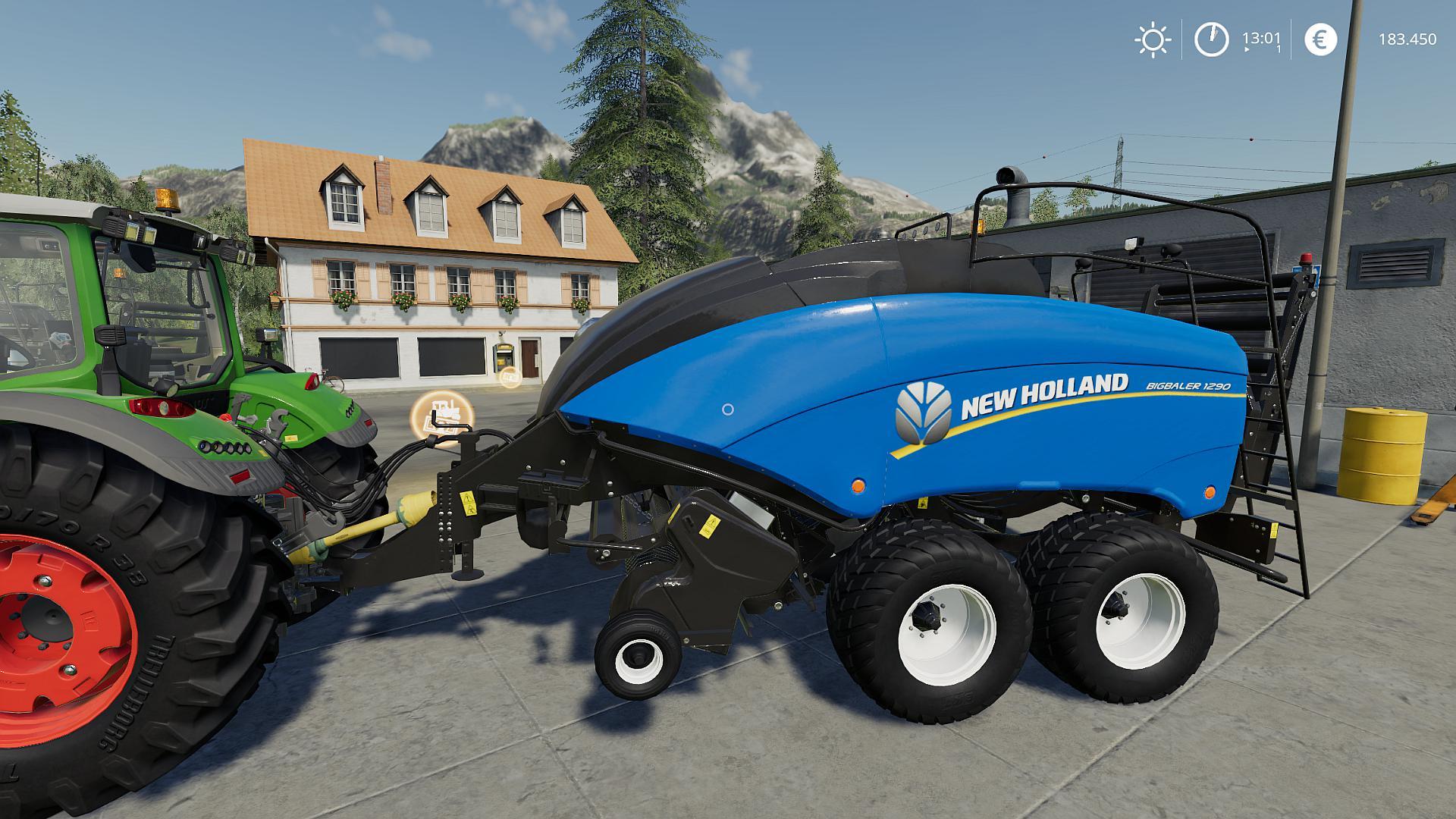 New Holland BB1290 v 1.0