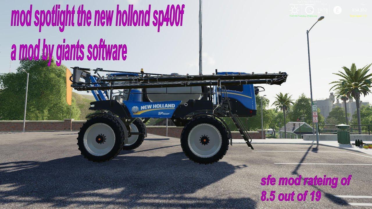 New Holland Miller sprayer v 1.0
