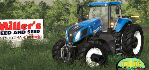 New Holland T.8 Row Crop v 1.0