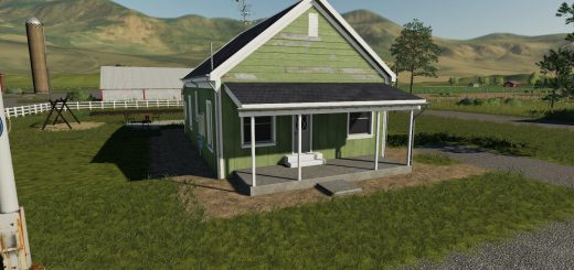 Placeable 2 bedroom house with sleep trigger v 1.0