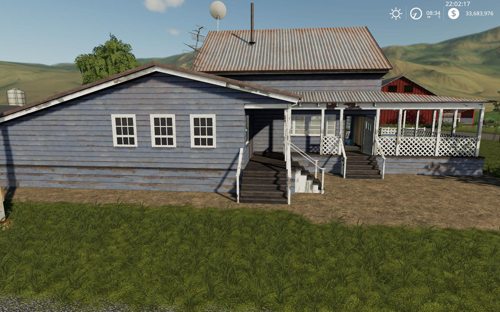 Placeable Farmhouse v 1.0