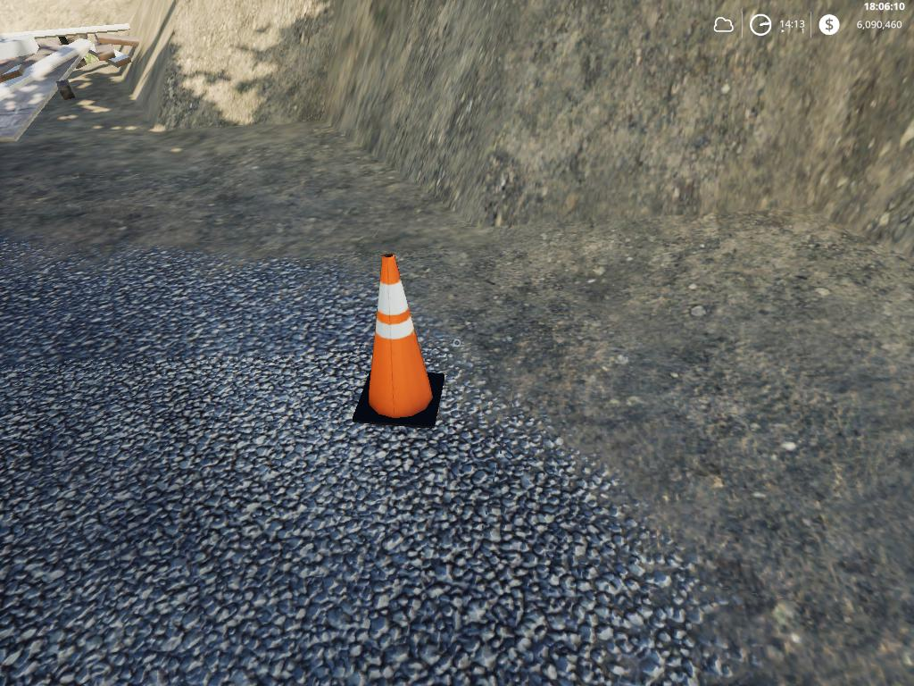 Placeable traffic cones v 1.0