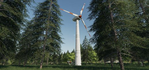 Placeable wind turbine revenue generator