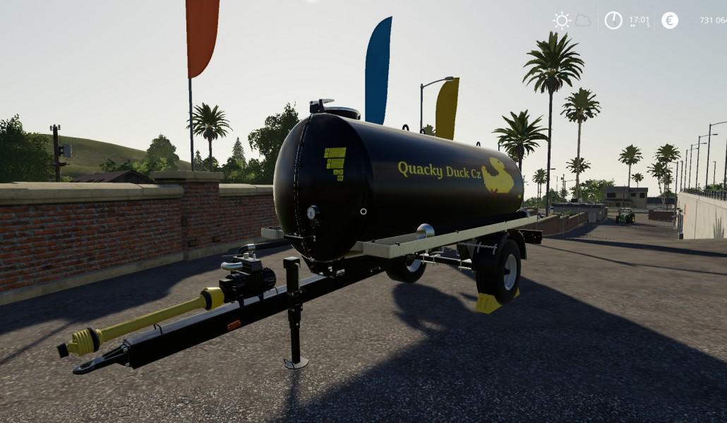 Quacky Duck CZ Univerzal trailer PACK v 1.0