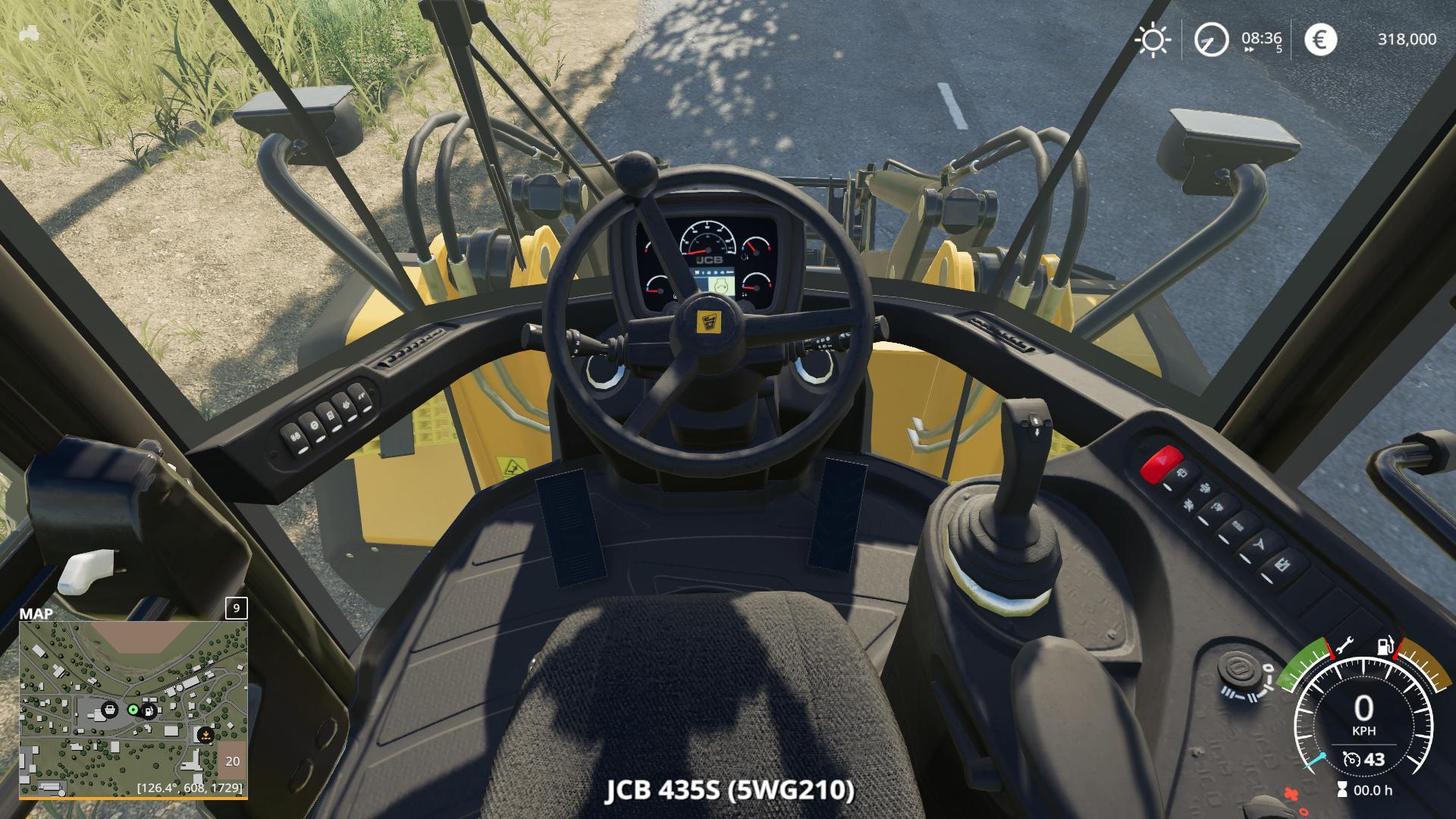 Radlader JCB 435S v 2.1