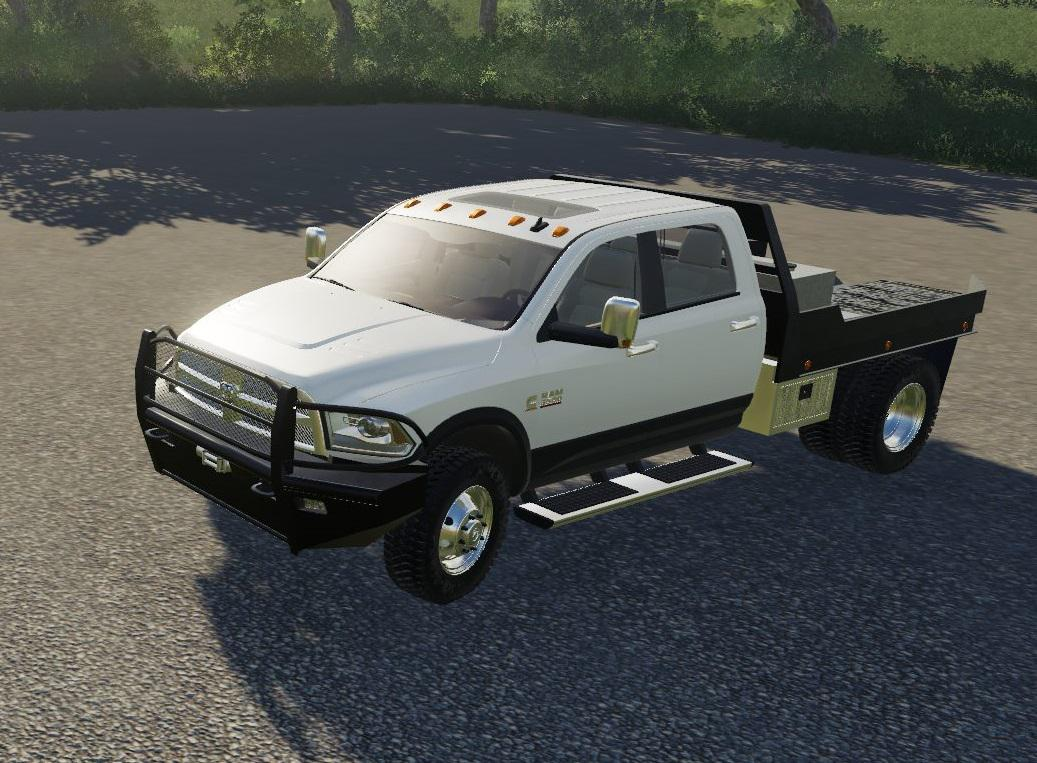 Ram 3500 Flatbed V 1 0 Fs19 Mod Fs19 Net