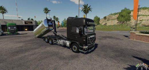 Scania R730 Hooklift v 1.0