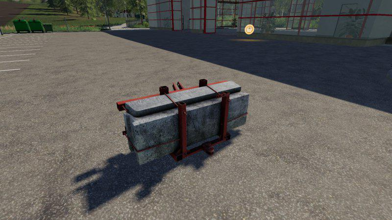 Self-made counterweight v 1.0