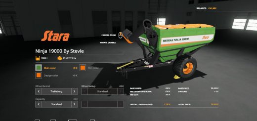 Stara Ninja 19000 Auger Wagon By Stevie
