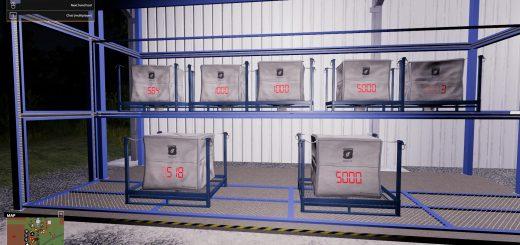Pallets/Tanks with Digital Fill Level Indicator v 2.0