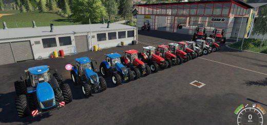 Tractor Pack by Stevie