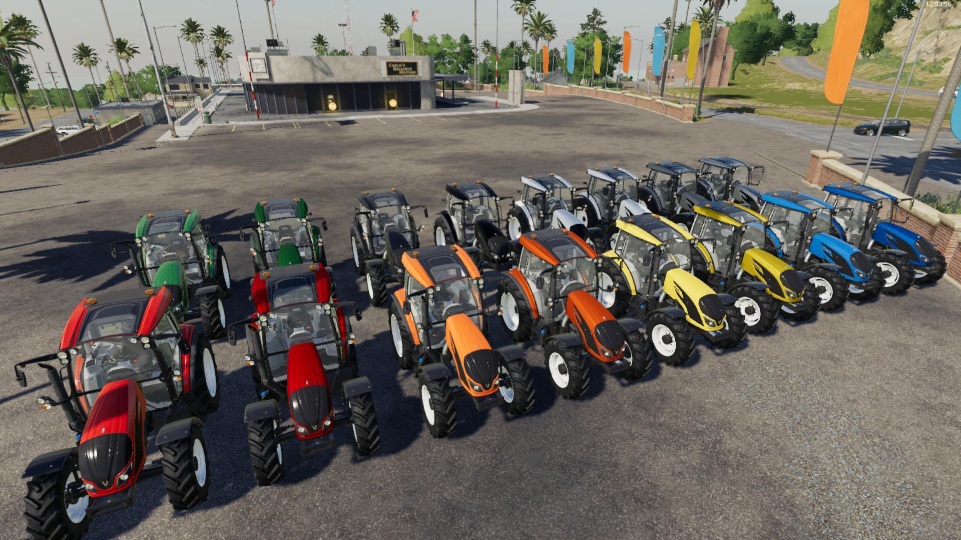 VALTRA S-SERIE Traktoren Prospekt von 11//09 VALTRA 9