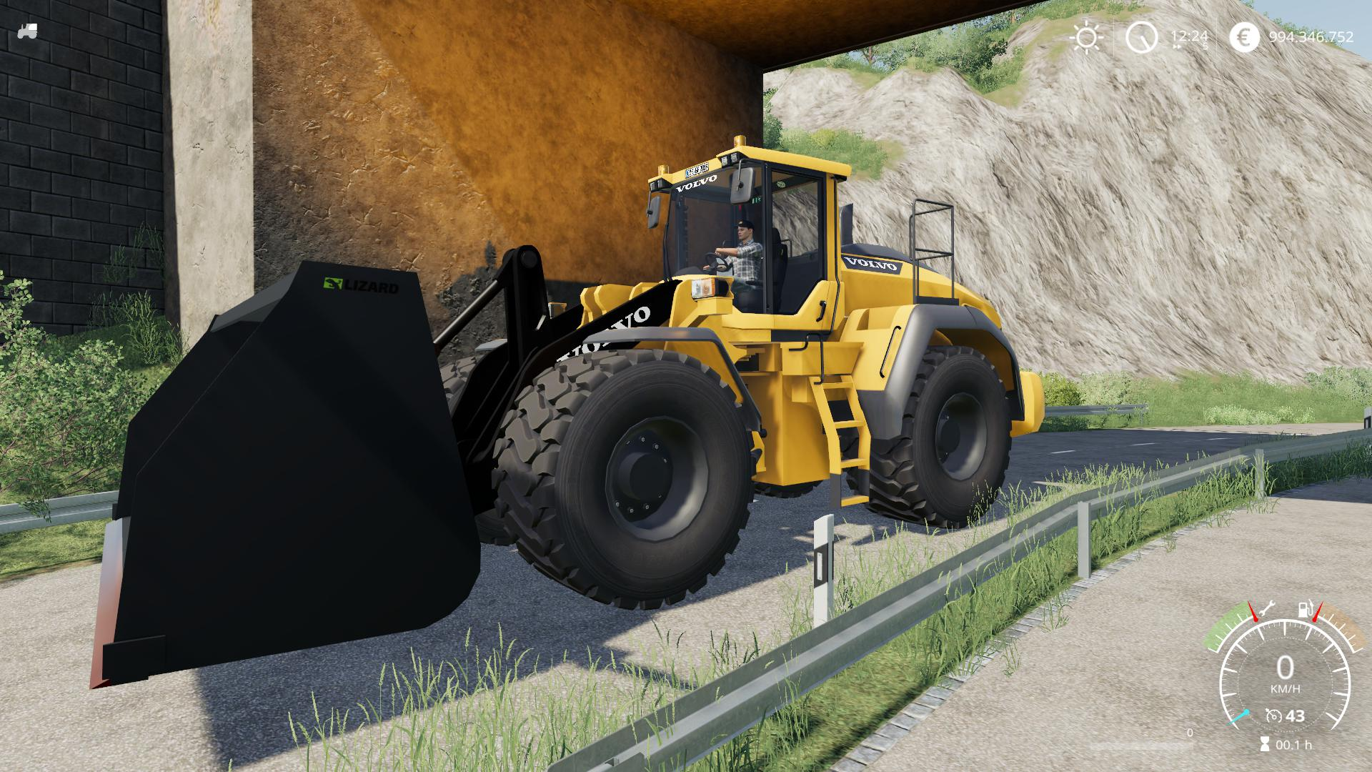 Volvo L220h without Shovel v 2.0.1.9