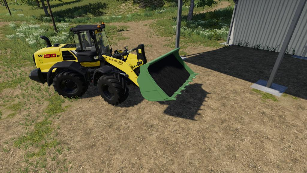 Wheel Loader Shovel v 1.0