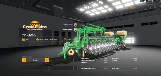 YP 2425A Multi Seeder v 1.0