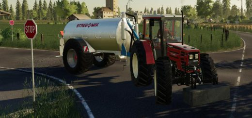 slurry tanker set 9000 liters v 1.0