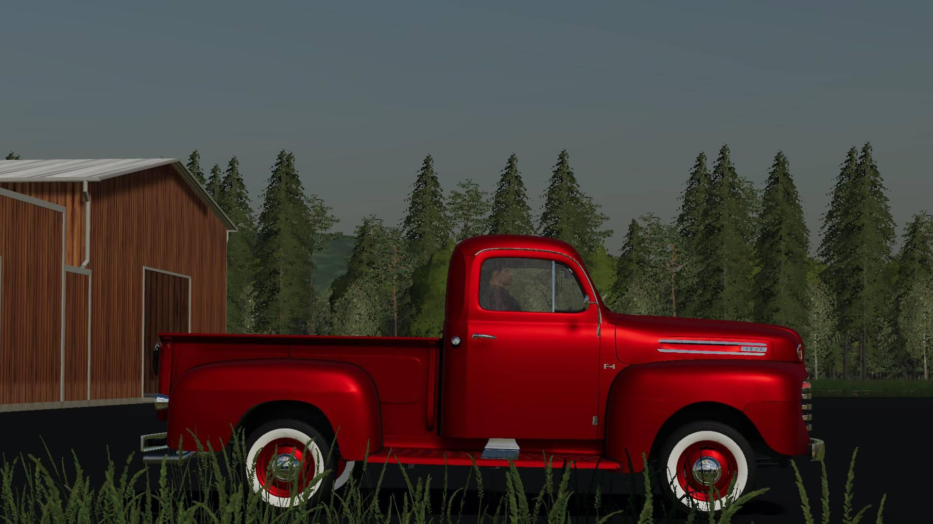1948 Ford F100 service truck v 1.0