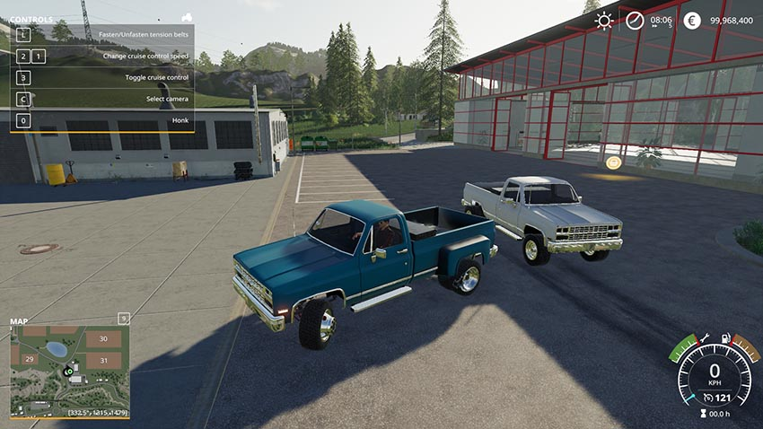 1984 Chevrolet k30 v 1 0 | FS19 mods, Farming simulator 19 mods