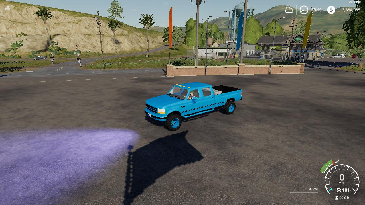 1996 f350 light blue v 1.0