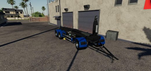 3-axle hooklift Trailer v 1.0