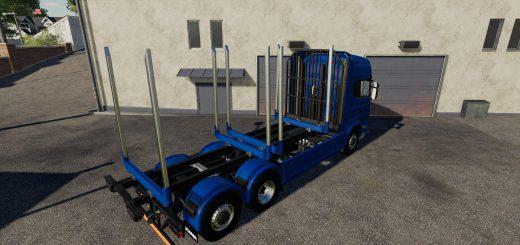Adjustable hooklift Wood Container v 1.0