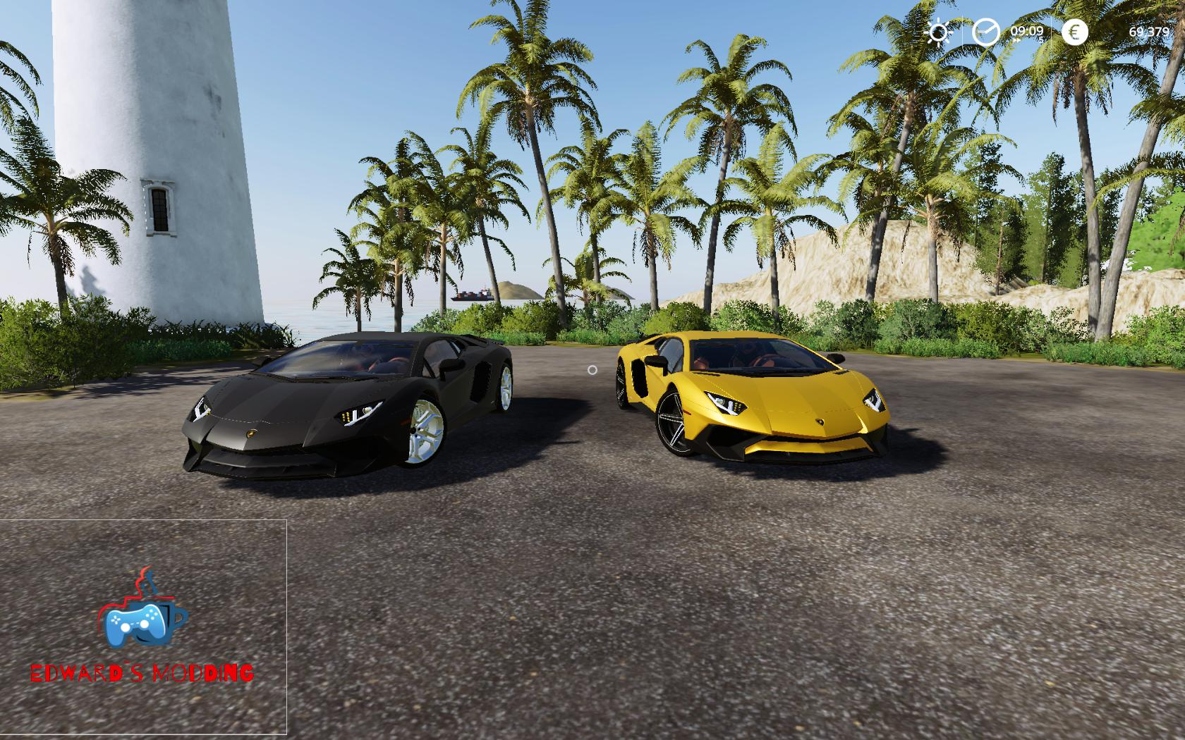 Aventador LP750 v 2 0 | FS19 mods, Farming simulator 19 mods