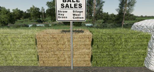 Bale Sale Point (Placeable) v 1.0