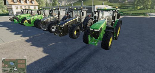 Best Pack of John Deere Tractors v 1.0