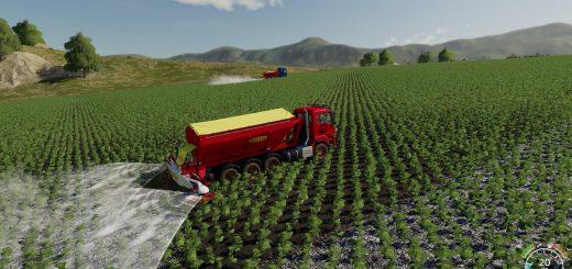 Bredal Hooklift Fertilize spreader v 1.0