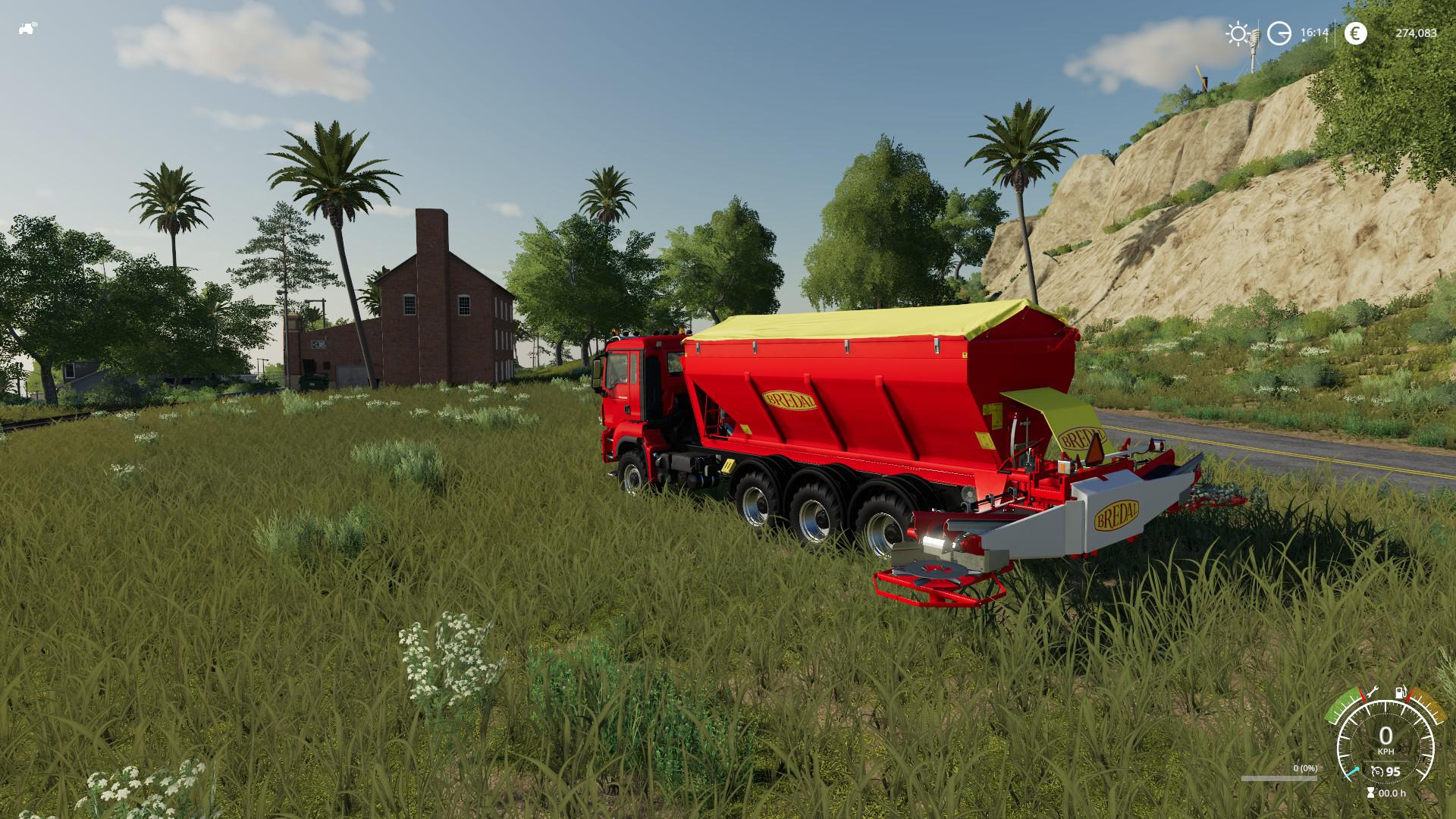 Bredal Hooklift Fertilize spreader v 1.0