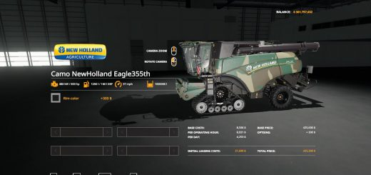 Camo New Holland Eagle355th Pack v 1.0