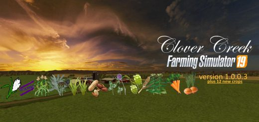 Clover Creek plus 12 crops v 1.0.0.3