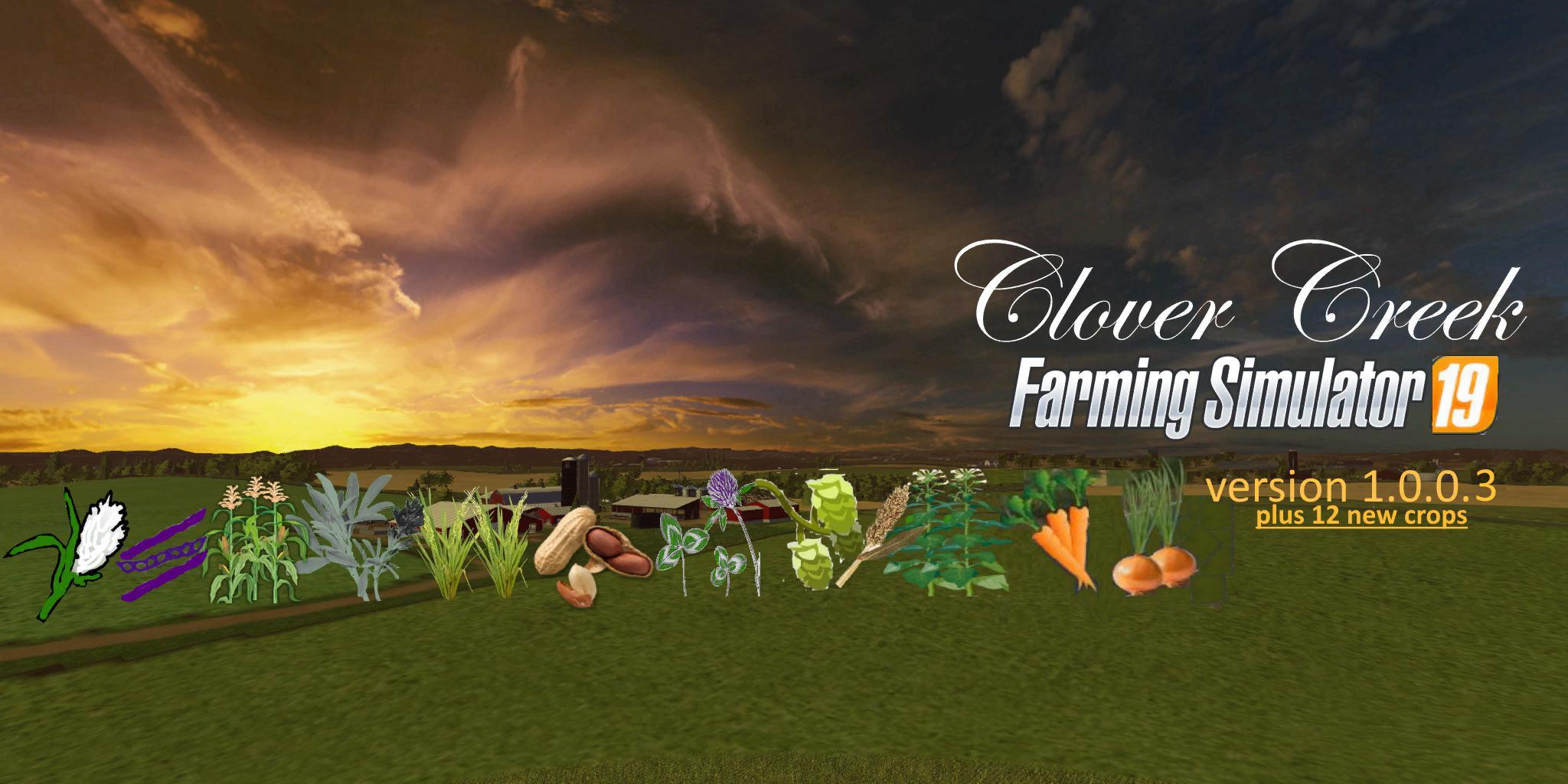 Clover Creek plus 12 crops v 1.0.0.3