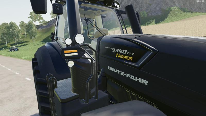 Deutz Fahr 9340 TTV Warrior v 1.0