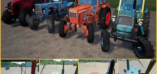 Domestic tractors Rus Paсk v 1.0