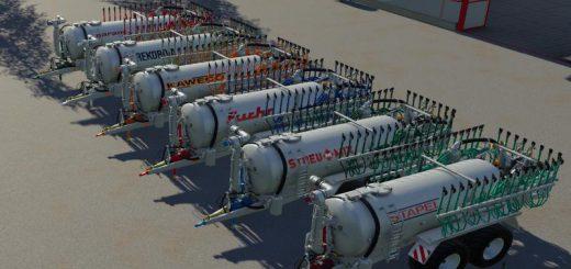 Drag hose slurry tank set galvanized 16m v 1.0