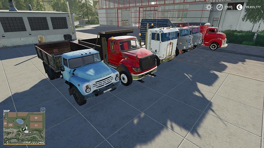 Dump trucks Pack v 1.0