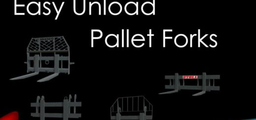 Easy Unload Pallet Forks v 1.0
