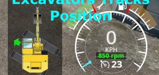 Excavators Tracks Position v 1.1