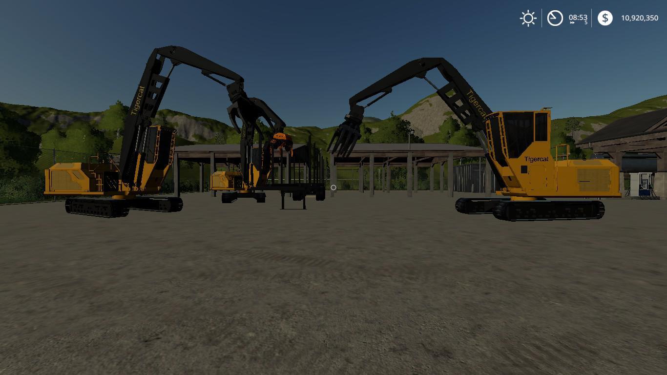 FDR Logging Mod Pack Current Machines v 1.0