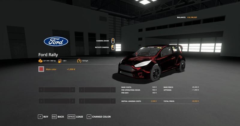 Ford Fiesta Rally v 1.19