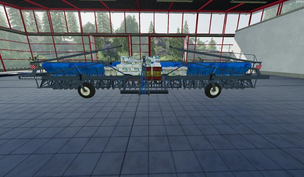 Fortschritt Drillmaschine A202 v 1.0