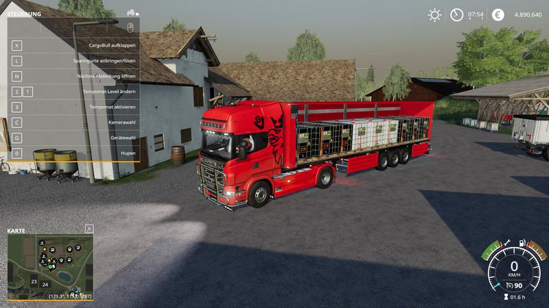 HoFFis Schmitz CargoBull by Ap0lLo | FS19 mods, Farming simulator 19