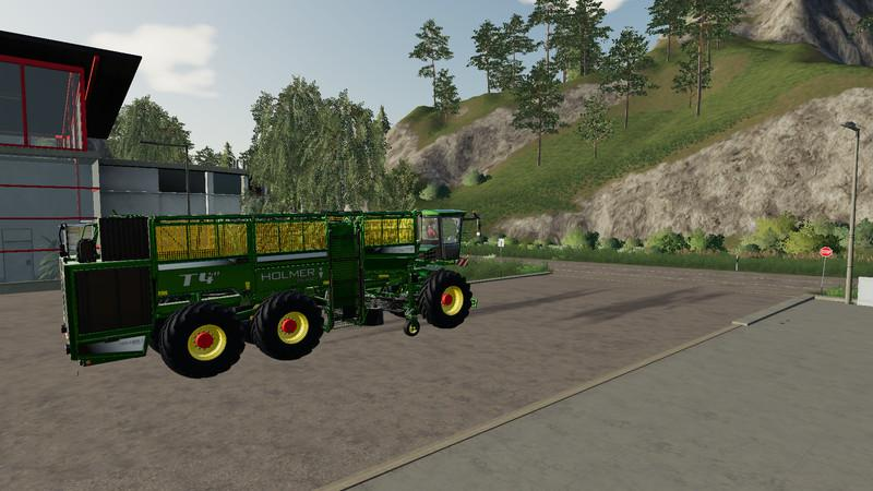 Holmer pack for potatoes and sugar beets v 1.0