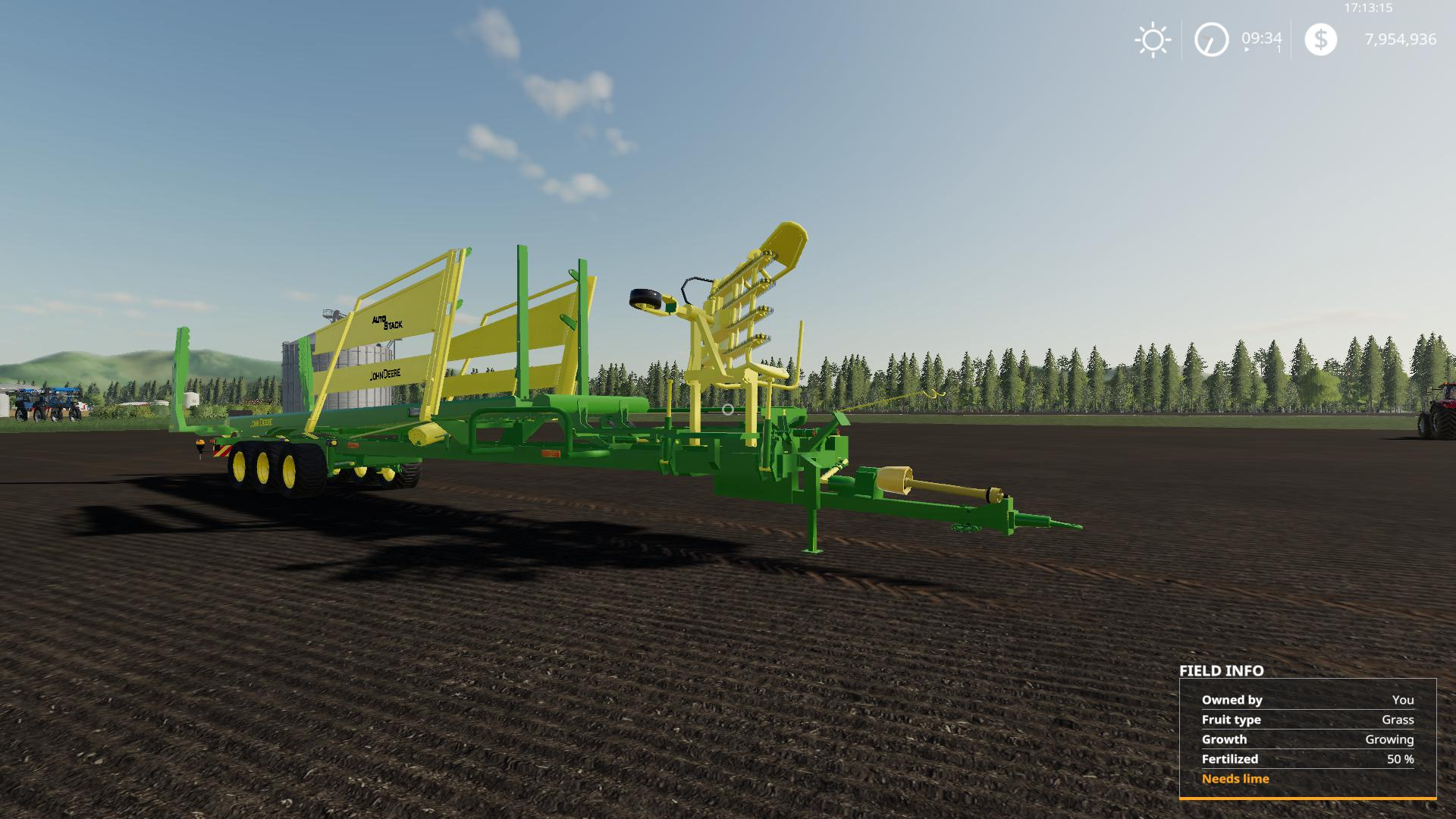 John Deere 32 bale Autostacker v 2 0 | FS19 mods, Farming simulator