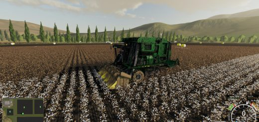 John Deere 7760 Cotton Baler v 1.0